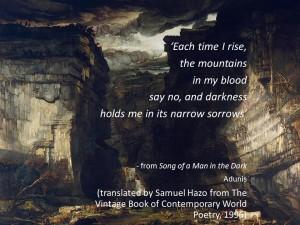 painting: James Ward - Gordale Scar c/o wikipedia